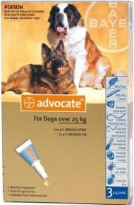 Advocate Extra Large Dog Grey (Over 25kg)