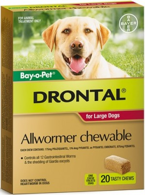Drontal Allwormer Chewable 35kg