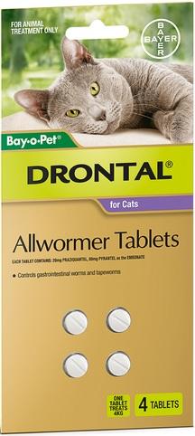 Drontal Cat Allwormer Refill (4 Tablets)