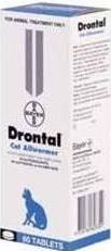 Drontal Cat Allwormer Refill (60 Tablets)