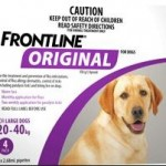 Frontline Original Large Dog Purple (20-40kg)