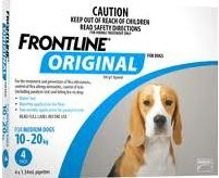 Frontline Original Medium Dog Blue (10-20kg)
