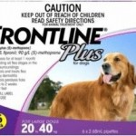 Frontline Plus Large Dog Purple (20-40kg)