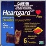 Heartgard Plus Chewables Small Dog Blue (Up To 11kg)