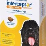 Interceptor Spectrum Tasty Chews Medium Dog Yellow (11-22kg)