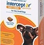 Interceptor Spectrum Tasty Chews Very Small Dog Brown (Under 4kg)