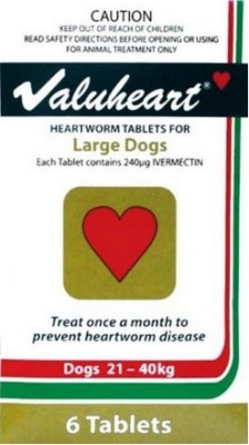 Valuheart Large Dog Gold (21-40kg)