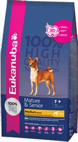Eukanuba Mature And Senior Medium Breed Dog Food