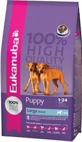 Eukanuba Puppy Large Breed Dry Dog Food