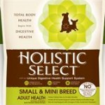 Holistic Select Small & Mini Breed Adult Health Anchovy, Sardine and Chicken Meal