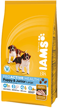 Iams Proactive health puppy and junior large breed
