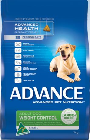 Advance Weight Control Large Breed