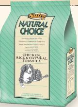 Nutro Natural Choice Adult - Chicken, Rice & Oatmeal Formula