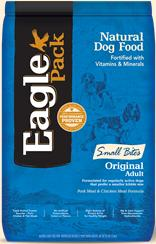 Eagle Pack Small Bites Original Adult, Pork Meal & Chicken Meal