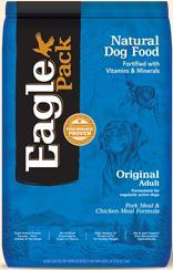 Eagle Pack Adult Original, Pork Meal And Chicken Meal Formula