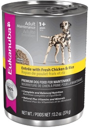 Eukanuba Entree With Fresh Chicken And Rice