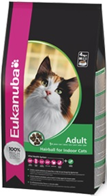 Eukanuba Cat Adult Hairball Relief For Indoor Cats