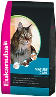Eukanuba Cat Mature Care for Senior Cats