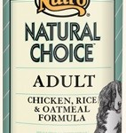 Nutro Natural Choice Adult Chicken, Rice & Oatmeal Formula
