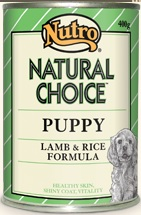 Nutro Natural Choice Puppy Lamb & Rice Formula