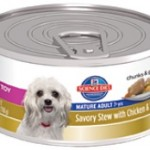 Hill's Science Diet Small & Toy Mature Adult Savory Stew with Chicken & Vegetables