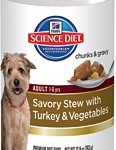 Hill's Science Diet Adult Savory Stew with Turkey & Vegetables