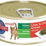 Hill's Science Diet Kitten Liver & Chicken Entrée
