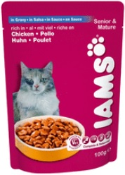 Iams Cat Active Maturity Pouch (Wet Food)