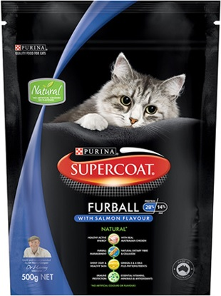 Supercoat Furball With Salmon Flavour