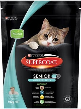 Supercoat Senior With Real Tuna