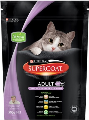 Supercoat Adult Chicken & Liver Flavour