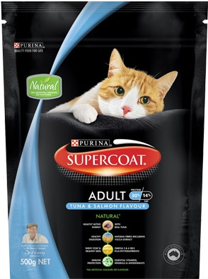 Supercoat Adult Tuna & Salmon Flavour