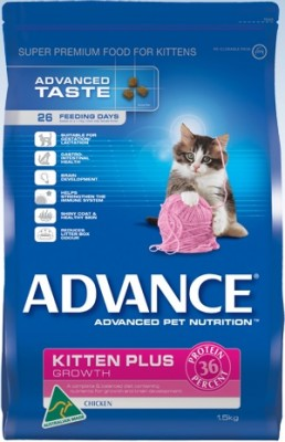 Advance Kitten Plus Growth