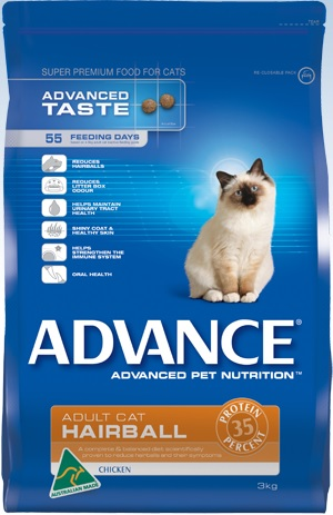 Advance Hairball Adult With Chicken