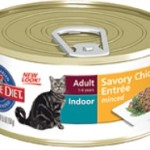 Hil's Science Diet Adult Indoor Cat Savory Chicken Entrée