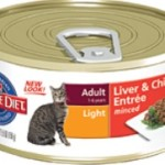 Hill's Science Diet Adult Light Liver & Chicken Entrée