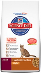 Hill's Science Diet Adult Hairball Control Light