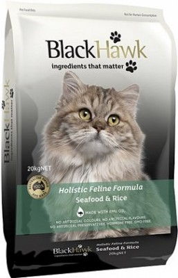 Black Hawk Feline Seafood And Rice