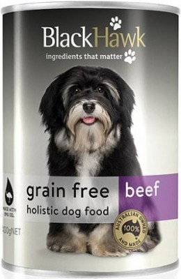 Black Hawk Grain Free Beef Canned Food