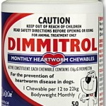 Dimmitrol Heartworm Monthly Chewables