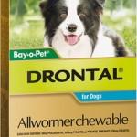 Drontal Allwormer Chewable 10kg