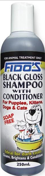 Fido's Black Gloss Shampoo