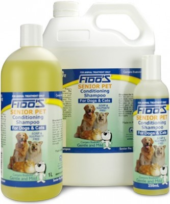 Fido's Senior Pet Conditioning Shampoo