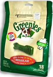 Greenies Treat Pak Regular