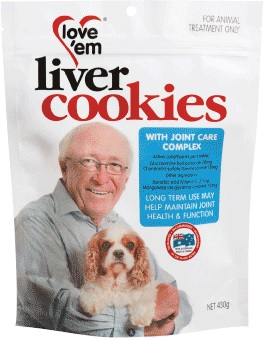 Love 'em Liver Cookies Joint Care