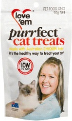 Love 'em Purrfect Cat Treats Chicken