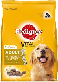 Pedigree Adult Mince And Vegies