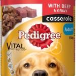 Pedigree Casserole Beef And Gravy