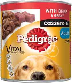 Pedigree Casserole Beef And Gravy