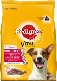 Pedigree Small Breed Mince Beef